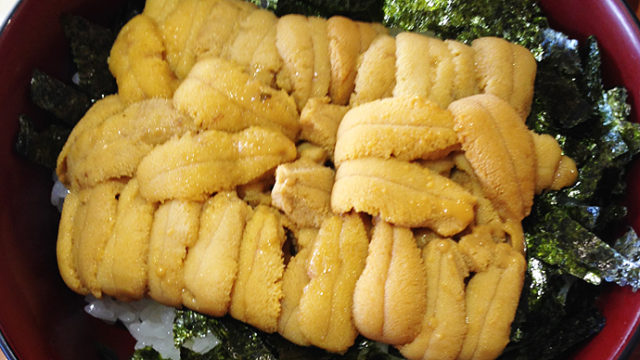 余市の柿崎商店 海鮮工房で旬のウニ丼をいただいてきましたー!