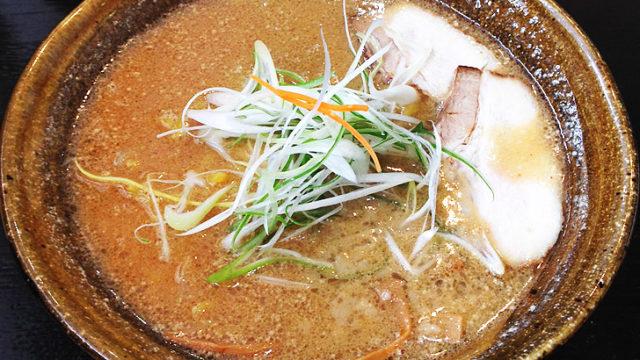 らーめん影虎(北区新道沿い)濃厚な背脂味噌を食べてきました!