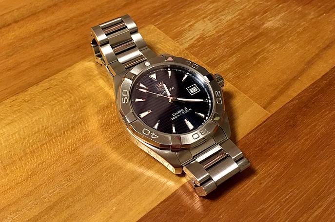 タグホイヤーの腕時計「アクアレーサー」を買いました!