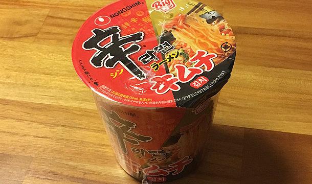 農辛「辛ラーメン キムチ カップ」を食べてみました!
