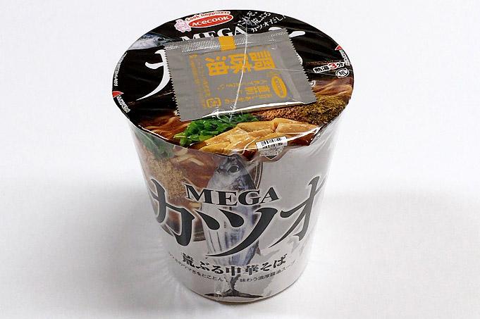 MEGAカツオ 荒ぶる中華そば 食べてみました!カツオがガツンと利いた中華そば!