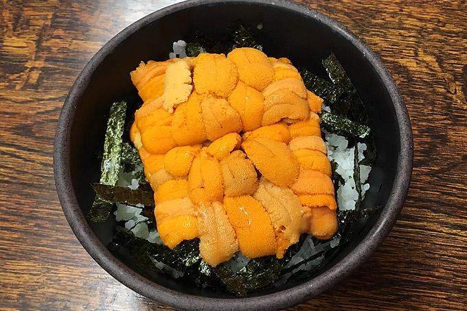 柿崎商店 海鮮工房でウニ丼を食べてきました!今年も美味い旬のウニ!