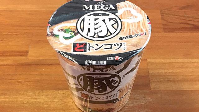 """MEGA豚 どトンコツラーメン 食べてみました!豚をとことん味わえる濃厚な""""ど豚骨""""!!"""