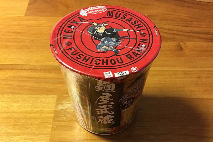 麺屋武蔵監修 節鶏(ふしちょう)ら~麺 食べてみました!かつお節の旨みに鶏だしが利いた美味い濃厚ダブルスープ!