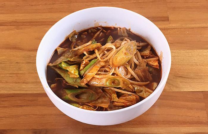 """東京炎麻堂 炎魔湯麺 食べてみました!""""炎麻湯麺""""の辛さと味をさらに追求した究極の激辛湯麺!"""