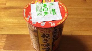 本気盛(マジモリ)ピリ辛ねぎ味噌 食べてみました!ポークの旨味に相性抜群なピリ辛味噌スープ!