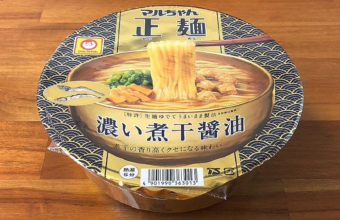 マルちゃん正麺 濃い煮干醤油