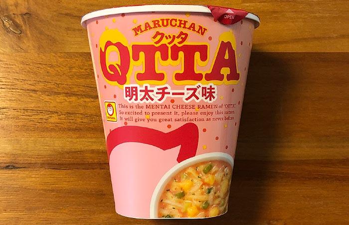 クッタ(QTTA)明太チーズ味 パッケージ