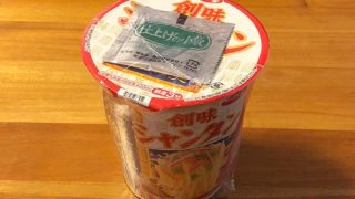 創味シャンタン 海鮮塩味 刀削風麺