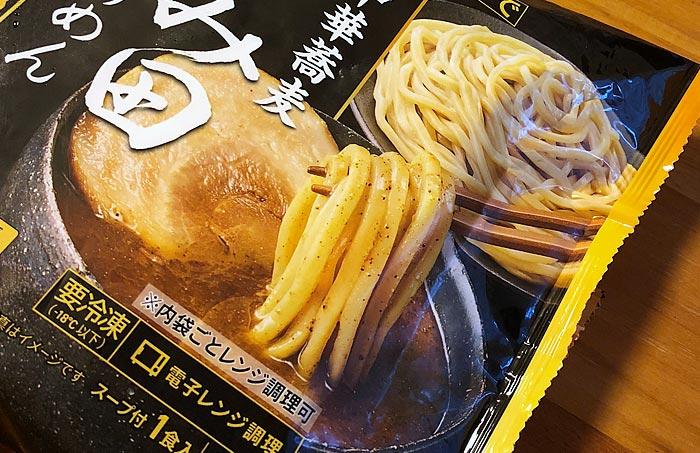 セブンプレミアムゴールド 中華蕎麦 とみ田 つけめん パッケージ