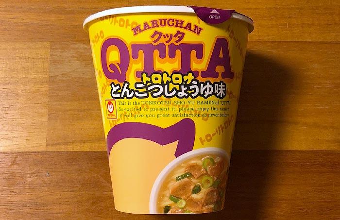 クッタ(QTTA)とんこつしょうゆ味 パッケージ