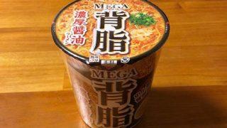 MEGA背脂 濃厚醤油ラーメン