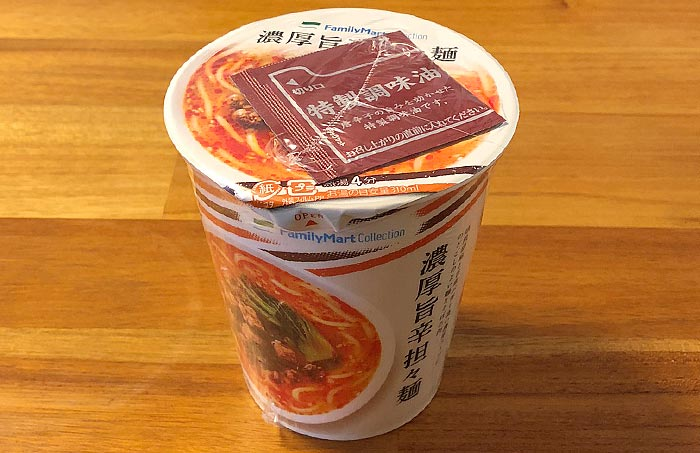 ファミリーマートコレクション 濃厚旨辛担々麺