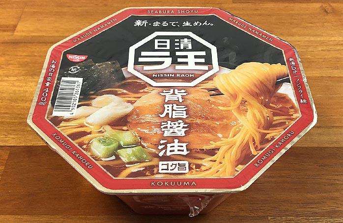 日清ラ王 背脂醤油