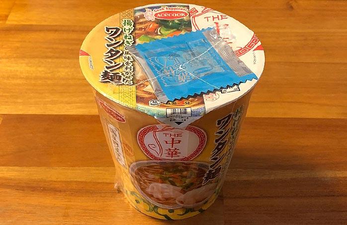 THE中華 揚げねぎの風味を利かせたワンタン麺
