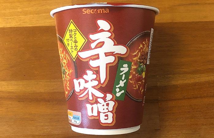 セコマ 辛味噌ラーメン パッケージ