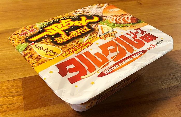 一平ちゃん夜店の焼そば タルタルソース味 パッケージ