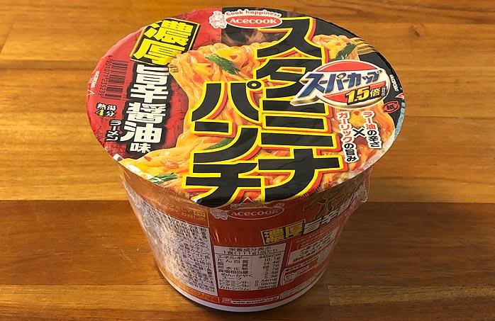 スーパーカップ1.5倍 スタミナパンチ 濃厚旨辛醤油味ラーメン