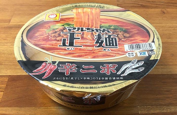 マルちゃん正麺 カップ 辛ニボ
