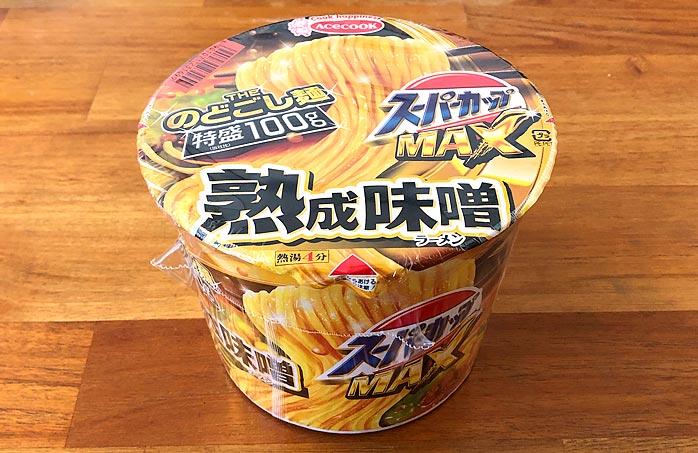 スーパーカップMAX みそラーメン