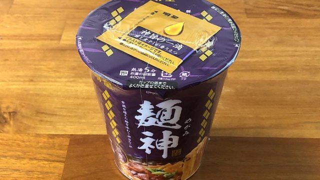 麺神カップ 神太麺×旨 醤油