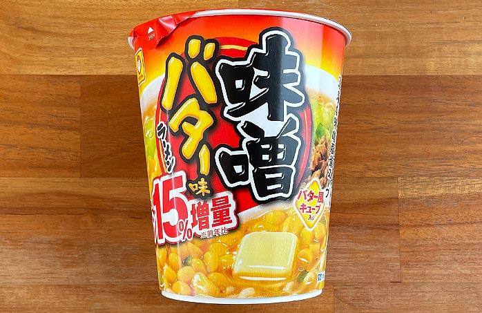 マルちゃん 味噌バター味ラーメン パッケージ