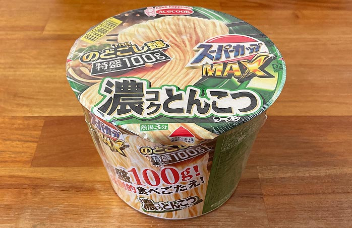 スーパーカップMAX とんこつラーメン