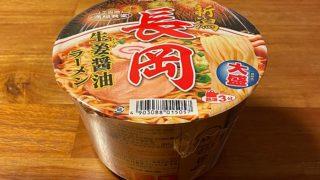 ニュータッチ 大盛長岡生姜醤油ラーメン