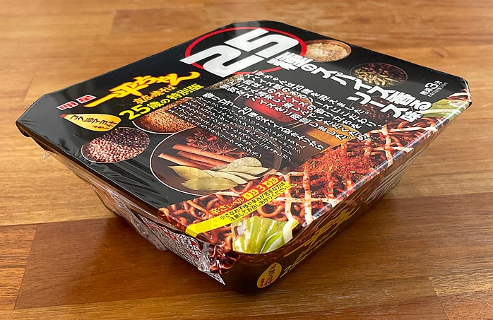 一平ちゃん夜店の焼そば 25種のスパイス香るソース味 パッケージ