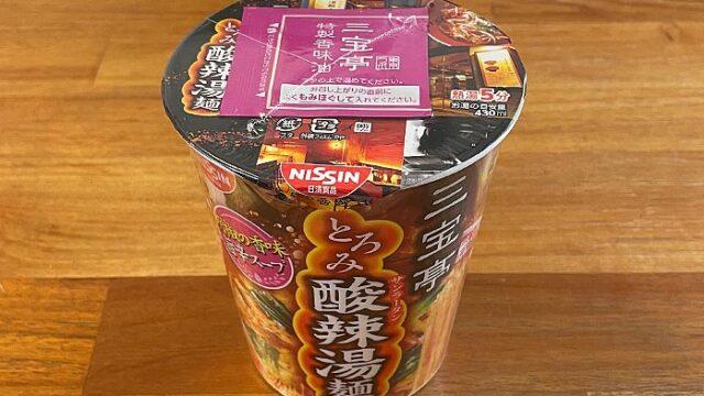 三宝亭東京ラボ 酸辣湯麺