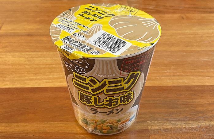 【セイコーマート】ニンニク豚しお味ラーメン