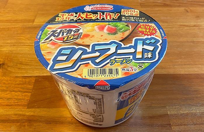 スーパーカップ1.5倍 シーフード味ラーメン