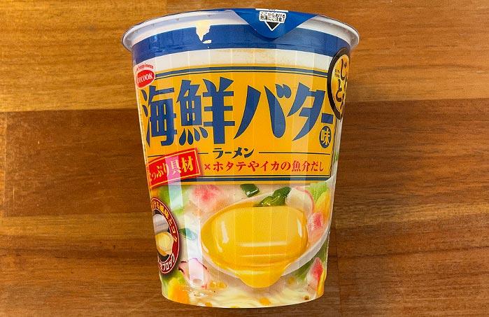 じわとろ 海鮮バター味ラーメン パッケージ