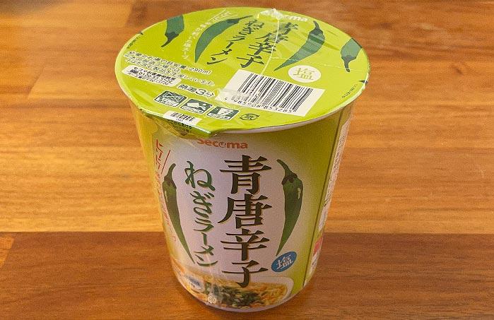 【セイコーマート】青唐辛子ねぎラーメン