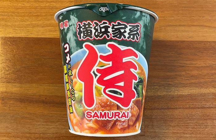 横浜家系 侍 濃厚豚骨醤油 パッケージ