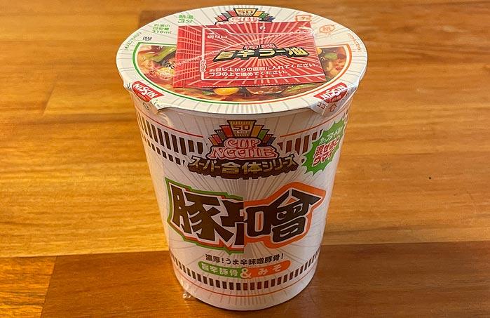 カップヌードル 味噌&旨辛豚骨